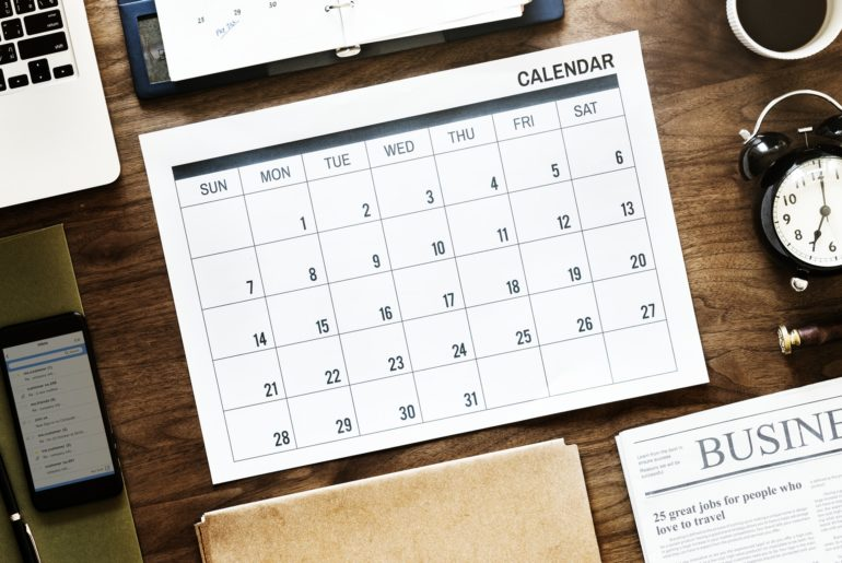 Calendar of best time to buy a car