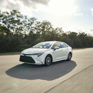 2020 Toyota Corolla Hybrid Gets More Than 50 MPG