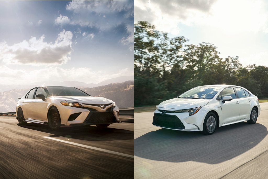 Corolla Vs Camry >> Toyota Camry Vs Toyota Corolla Which Car Is Right For Me