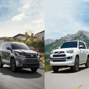 Toyota Highlander vs. Toyota 4Runner: Which Car is Right For Me?