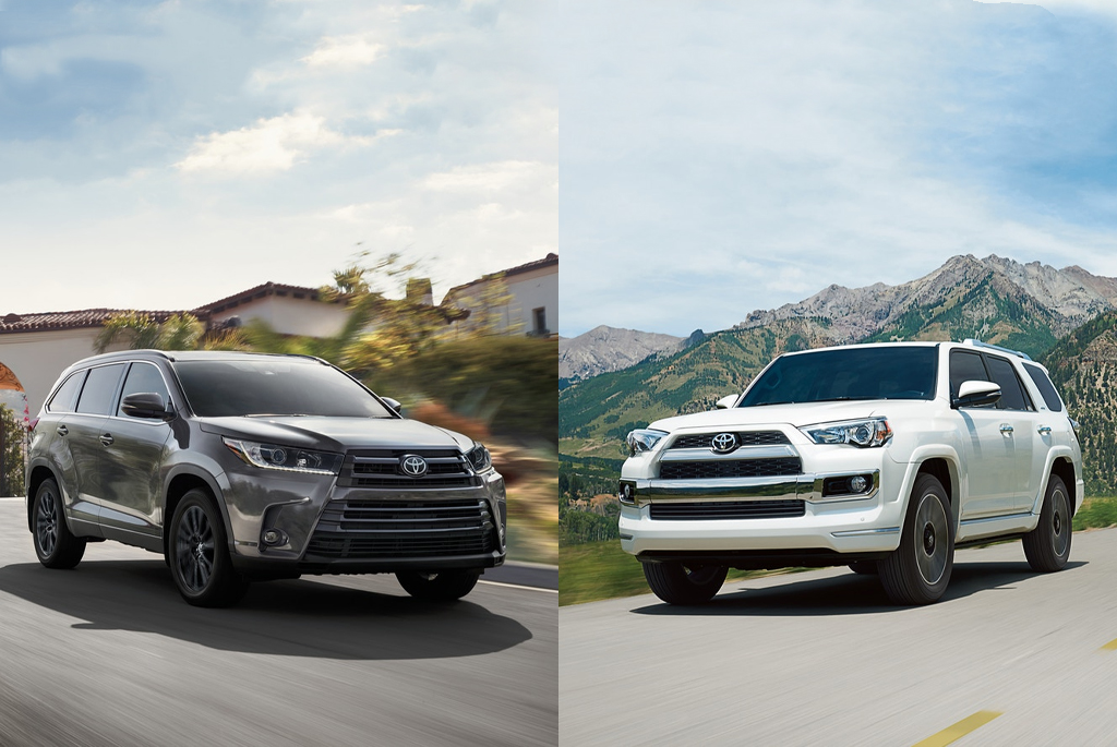 Toyota Highlander Vs Toyota 4Runner >> Toyota Highlander Vs Toyota 4runner Which Car Is Right For