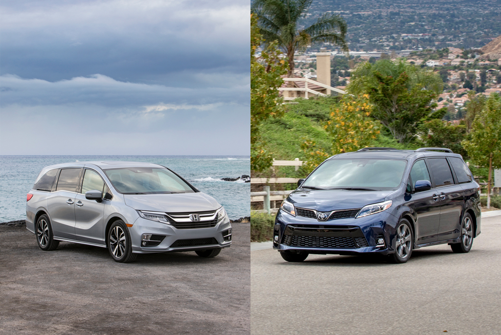 Honda Odyssey vs. Toyota Sienna: Which Minivan is Right For Me?
