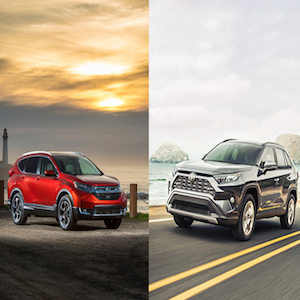 Honda CR-V vs. Toyota RAV4: Which Car is Right For Me?
