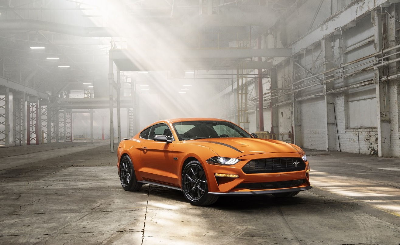 2020 Ford Mustang High Performance Package in warehouse