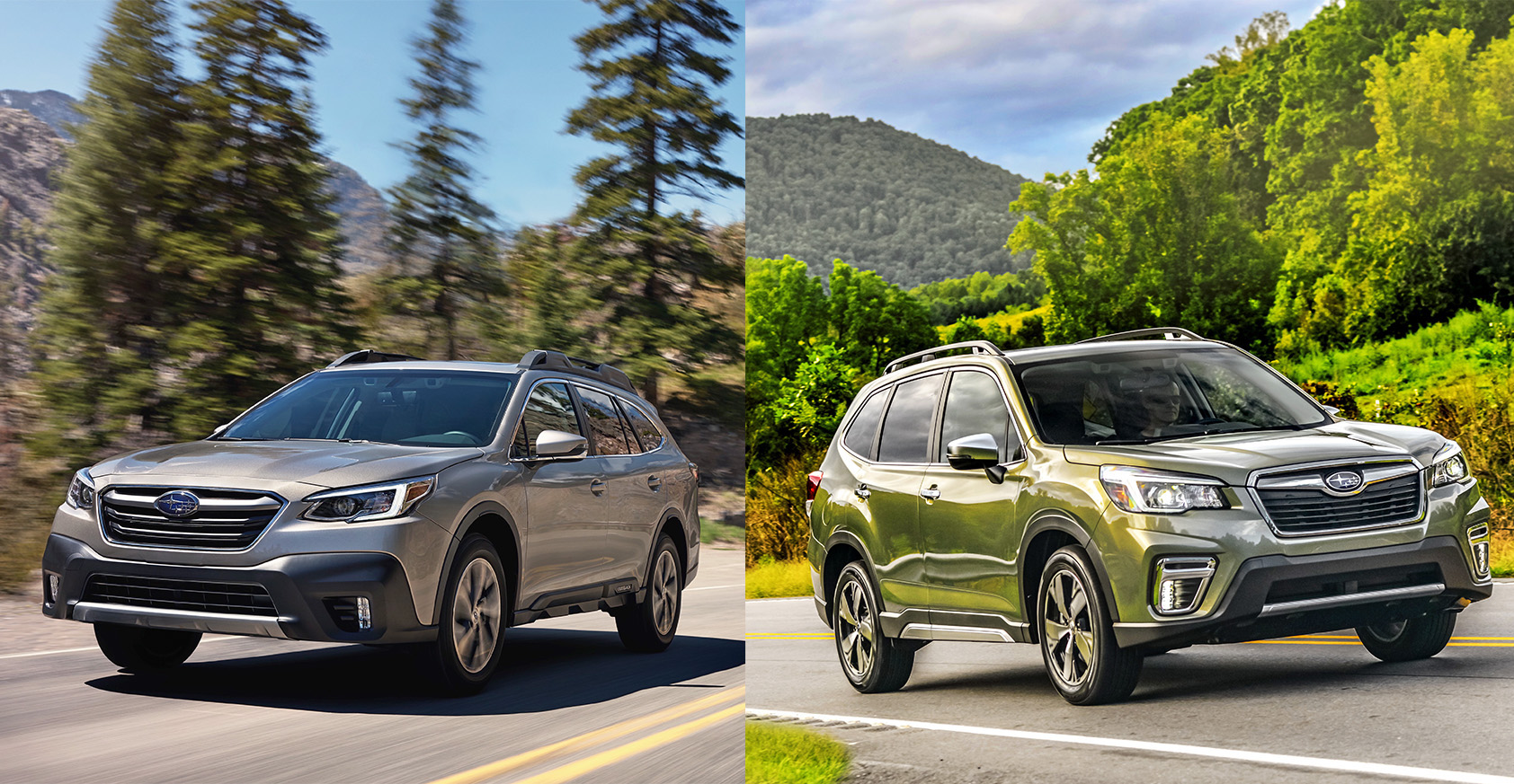Subaru outback and forester comparison