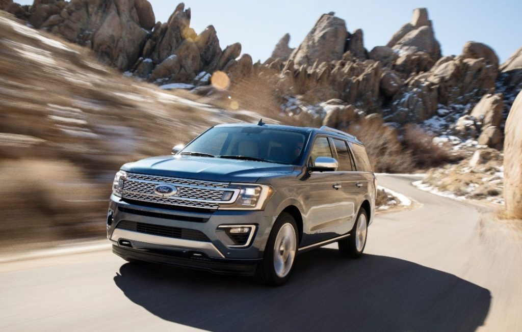 2018 Ford Expedition off road