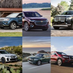 Best 3 Row SUVs Featured Image