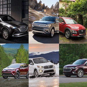 Best SUV 2018 (Pro Rated Used Utility)