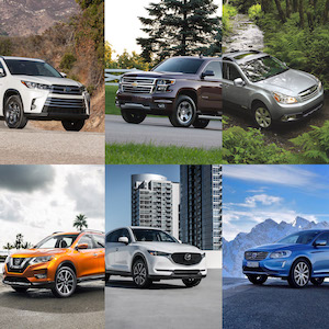 Best Used SUVs (by Pro Opinion and Reliability)