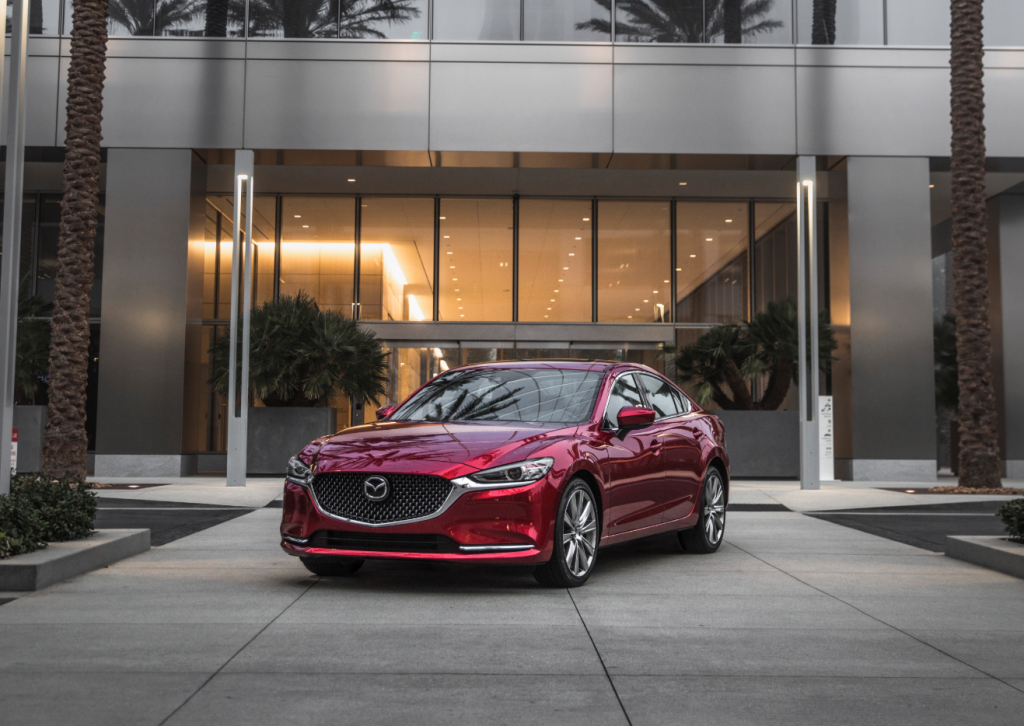 2019 Mazda6 Outside Office Building