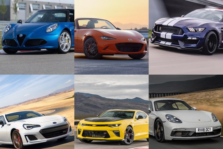 7 Best Sports Cars Featured Image