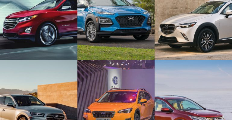 Best Compact SUVs for 2018 featured image